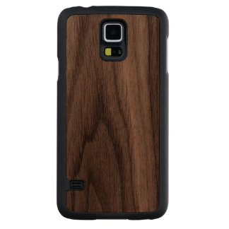 Make Your Own Carved® Wood Samsung Galaxy S5 Cases Carved® Walnut Galaxy S5 Slim Case