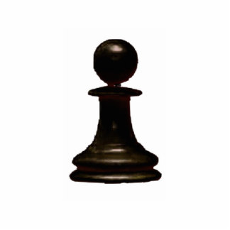 Make your own chess set Black Pawn Standing Photo Sculpture
