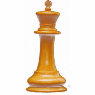 Make your own chess set White King Standing Photo Sculpture