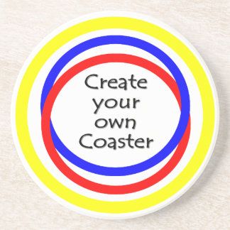 Make your own coaster