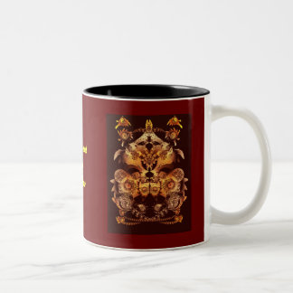 Make your own crest Two-Tone coffee mug