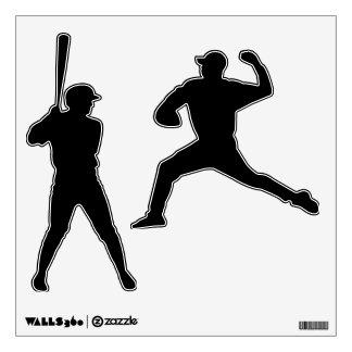 Make Your Own Custom Baseball Wall Decals
