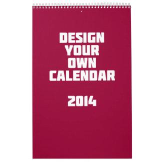 Make Your Own Custom Calendar 2014