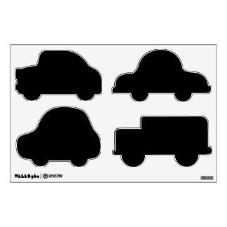 Make Your Own Custom Cars Shapes Wall Decals