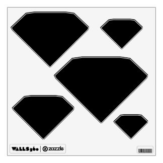 Make Your Own Custom Diamond Shapes Wall Decals