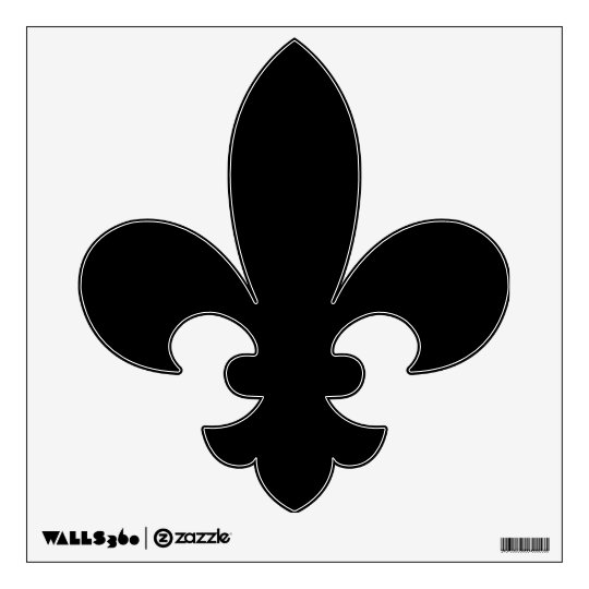 Make Your Own Custom Fleur De Lis Wall Decal