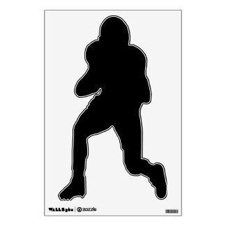 Make Your Own Custom Football Player Wall Decal