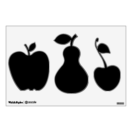 Make Your Own Custom Fruit Shapes Wall Decal Wall Decor