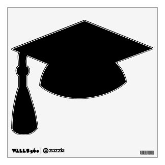 Make Your Own Custom Graduation Hat Wall Decal