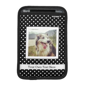 Make Your Own Custom Instagram Photo Polka Dots iPad Mini Sleeves