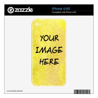 Make Your Own Custom iphone 4 Skins