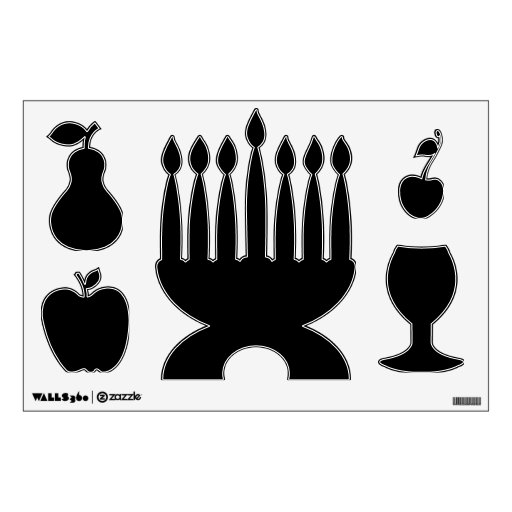 Make Your Own Custom Kwanzaa Shapes Wall Decals Zazzle