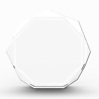 Make Your Own Custom Large Acrylic Octagon Award