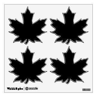 Make Your Own Custom Maple Leaves Wall Decals