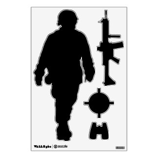 Make Your Own Custom Military Shapes Wall Decals