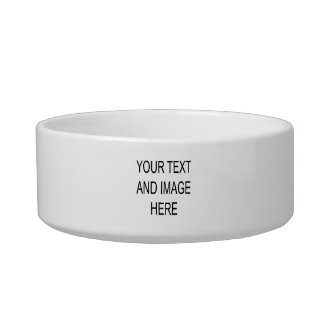 Make your own custom personalised bowl