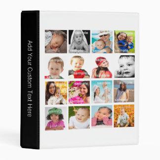 Make Your Own Custom Photo Collage Mini Binder