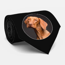 Make Your Own Custom Photo / Picture Black Men's Neck Tie