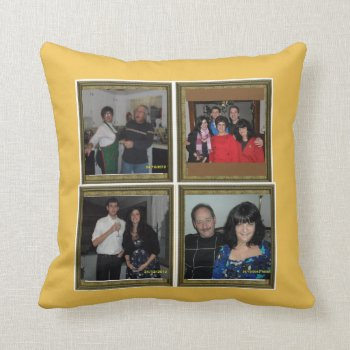 Make Your Own Custom Photo Pillow Polyester Throw by CREATIVEforHOME at Zazzle