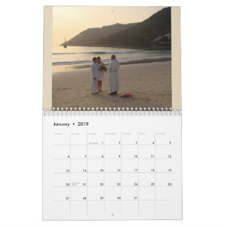 Make your own Custom photo print calendar