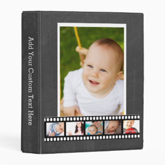 Make Your Own Custom Photo Reel Mini Binder