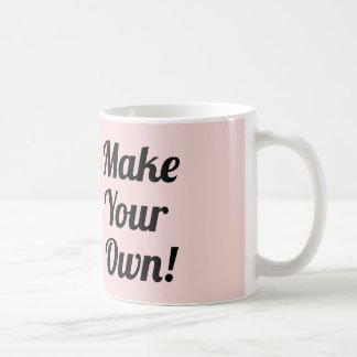 Make Your Own Custom Printed Coffee Mug