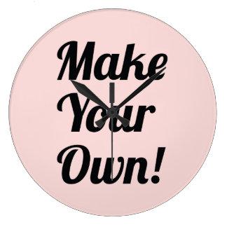 Make Your Own Custom Printing Clocks