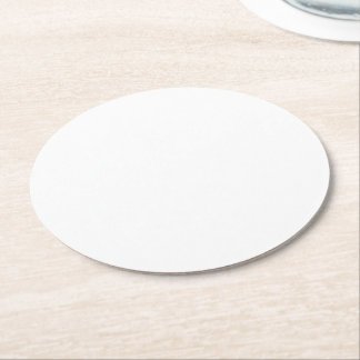 Make Your Own Custom Round Paper Coasters Round Paper Coaster