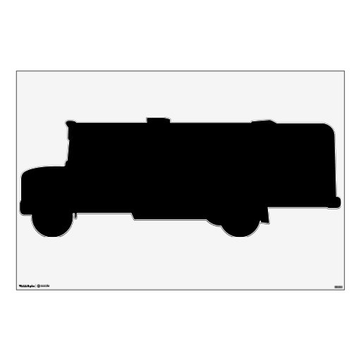 Make Your Own Custom School Bus Wall Decal