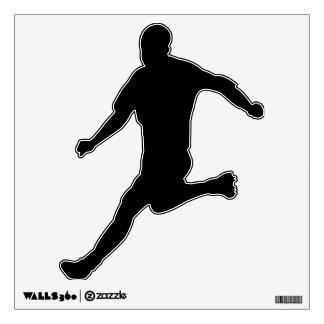Make Your Own Custom Soccer Player Wall Decal