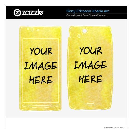 Make Your Own Custom Sony Phone Skins Xperia Arc Skins