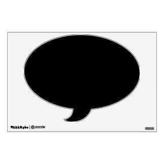 Make Your Own Custom Speech Bubble Wall Decal
