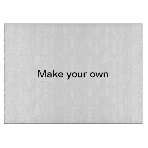 Make your own cutting board zazzle for Make your own chopping board