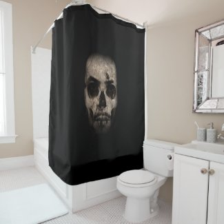Make your own dark side OF the Force Shower Curtain