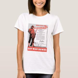 Make Your Own Declaration Of War -- WW2 T-Shirt