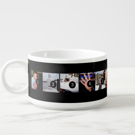 Make your own decor easily with 11 images on a bowl