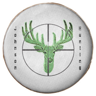 Make Your Own Deer Hunting Logo Chocolate Dipped Oreo