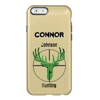 Make Your Own Deer Hunting Logo Incipio Feather Shine iPhone 6 Case
