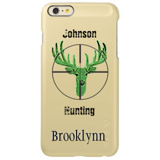 Make Your Own Deer Hunting Logo Incipio Feather® Shine iPhone 6 Plus Case