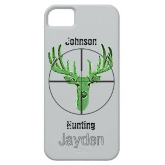 Make Your Own Deer Hunting Logo iPhone SE/5/5s Case