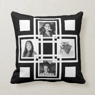Make Your Own Designer Custom Instagram Photo Throw Pillow