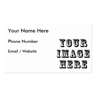 Make Your Own Double-Sided Standard Business Cards (Pack Of 100)