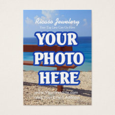 Make Your Own Earring Background Business Card at Zazzle