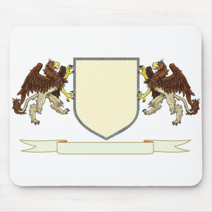 Make Your Own Family Crest Mouse Pad Zazzle
