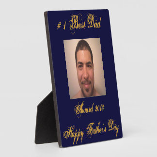 Make Your Own Father's Day Gift Photo Plaque