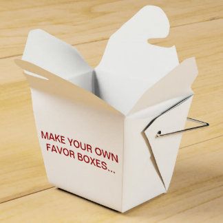 MAKE YOUR OWN FAVOR BOXES FOR YOUR WEDDING- OTHER