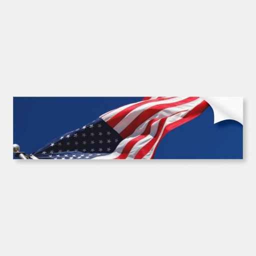 Make Your Own Flag Sticker Bumper Sticker Zazzle