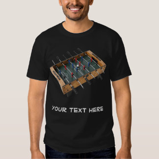 Make Your Own Foosball T-Shirt! Tee Shirt