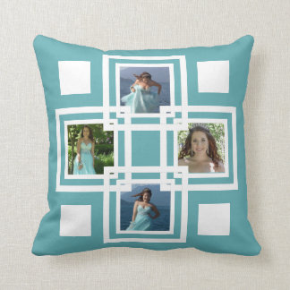 Make Your Own Funky Squares Instagram Collage Pillow