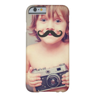 Make Your Own Funny Mustache Photo iPhone Case Barely There iPhone 6 Case